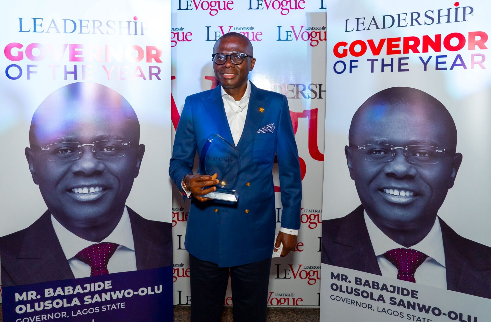 Sanwo-Olu Receives Leadership Governor Of The Year, Says Award Marks  Lagosians' Resilience – Yes International! Magazine